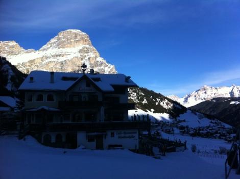 Arquitetura típica das montanhas.